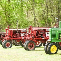 Franklin Southampton Tourism Antique Farmall Tractors