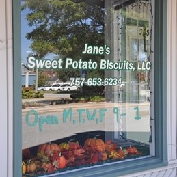 Janes Sweet Potato Biscuits