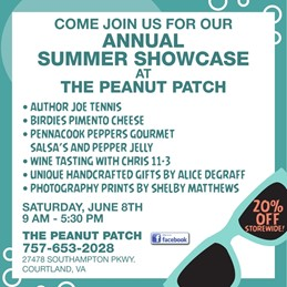 Annual Summer Showcase at The Peanut Patch